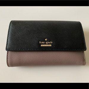 NWT Kate Spade Tri-Fold Wallet